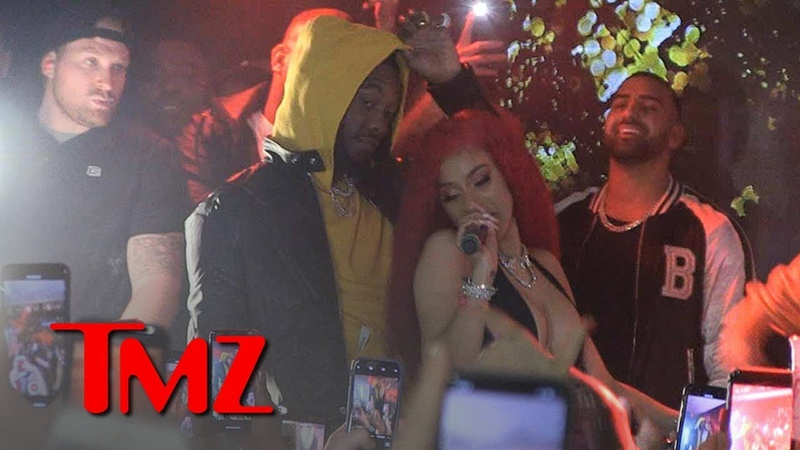 Cardi B Bounces Back from Grammys Drama with Pre-Valentine's Day Show | TMZ