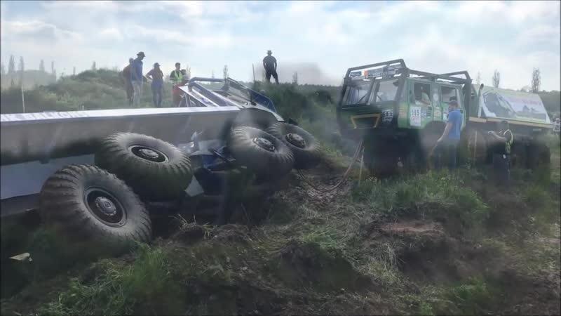 Tatra 813 Mercedes-Benz 8x8 Truck Trial 2019 Klieken