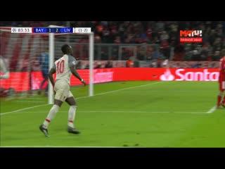 «Бавария» – «Ливерпуль». 1:3. Садио Мане