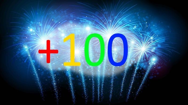 Crazy party in honor of 100 subscribers сумасшедшая вечеринка в честь 100 подписчиков