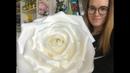 Роза из изолона 2мм. Подробный МК большие цветы