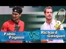 Fabio Fognini vs Richard Gasquet Highlights BASTAD 2018