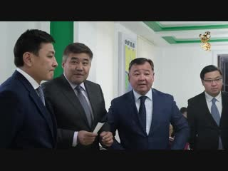 Визит Министра общественного развития Дархана Калетаева в ЗКО