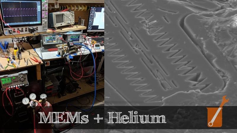 MEMs oscillator sensitivity to helium helium kills iPhones