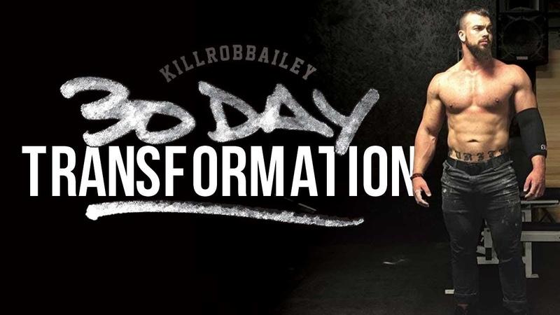 Rob Bailey 30 Day Transformation Rebirth Habits Ep 1