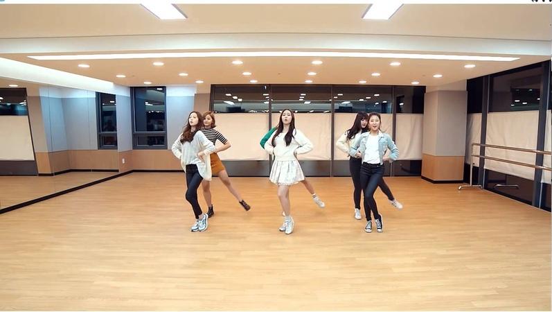 CLC High Heels Mirrored Dance Practice, 씨엘씨 예뻐지게 안무 거울모드