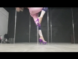Няшные трени #107♡ Exotic pole dance. Yana Svetlaya