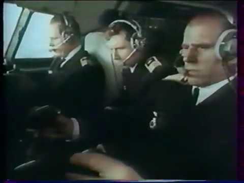 Взаимодействие экипажа, Ту 154, 1977