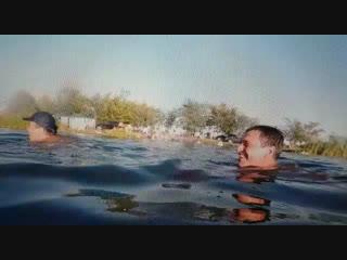 Судың астынан шыққан камера балығы