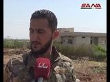 Армия расширяет свой контроль на окраине города Джалин и в окрестностях деревни Музайра на юго-западе Дараа