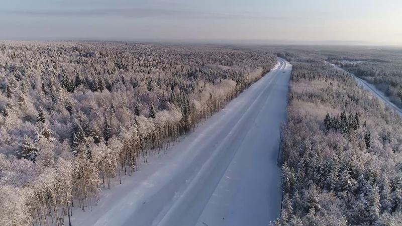 Автодорога Кочкома Тикша Ледмозеро Костомукша Госграница км 35 44