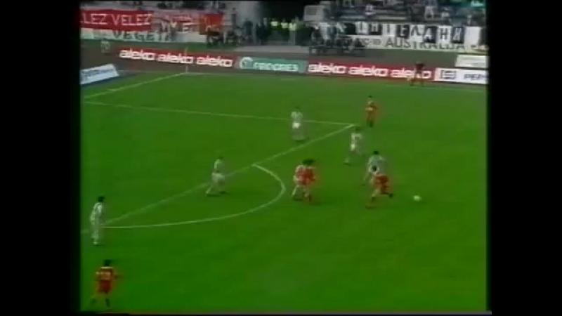 PARTIZAN - Velež Mostar [1989.] - finale kupa - cela utakmica
