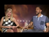 Margot Robbie Kisses and Tells on Will Smith E News