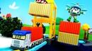 Nuevos coches de servicio Transportamos carga Vehículos de juguete para niños