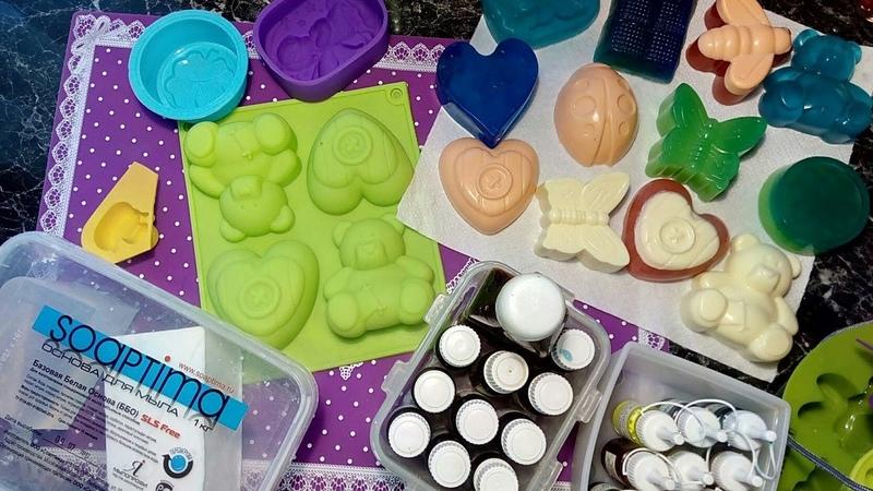 Что понадобится для изготовления мыла в домашних условиях Стартовый набор для мыла ручной работы!