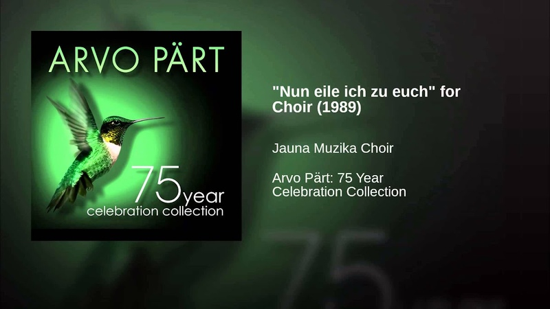 Nun eile ich zu euch for Choir 1989