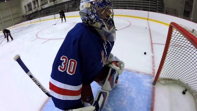 Глазами вратаря. GoPro On the Ice with Henrik Lundqvist