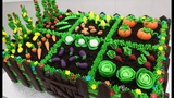 (https://vk.com/lakomkavk) How To Make a VEGETABLE GARDEN CAKE by Cakes StepbyStep