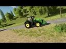 Farming Simulator 19 - демонстрация трактора John Deere 8400R