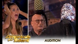 Aaron Crow Nearly KILLS Howie Mandel In EXTREME Danger Act! America's Got Talent 2018