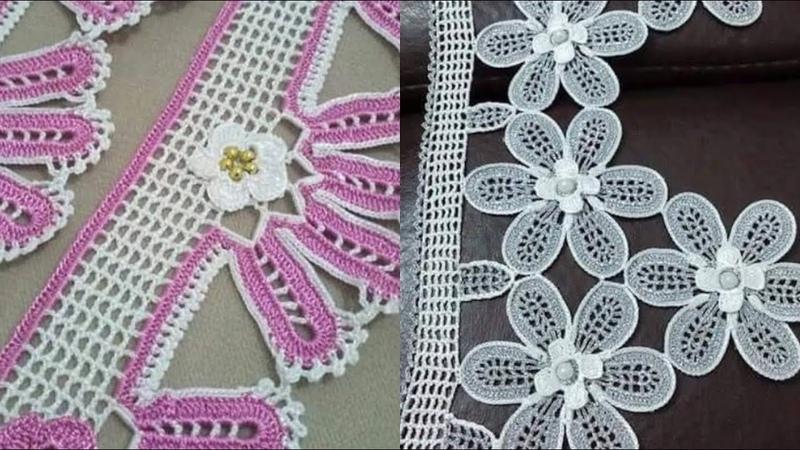 Havlu kenarı Çeyizlik dantel havlu kenar modelleri