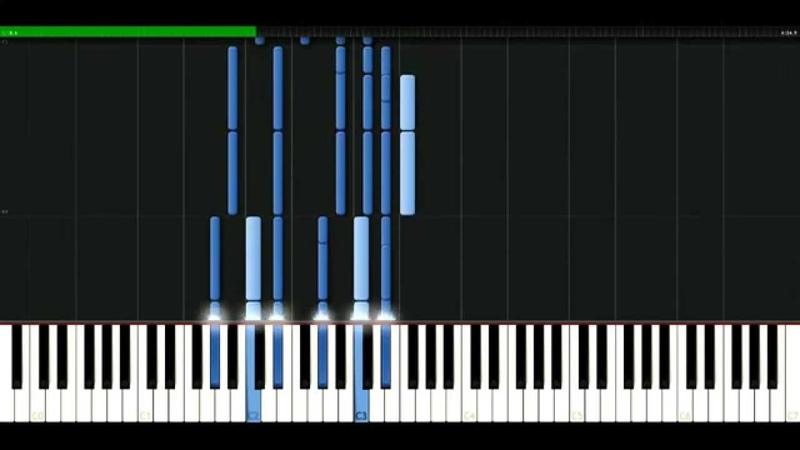 Tokio Hotel - Zoom into me [Piano Tutorial] Synthesia | passkeypiano