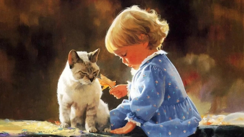 Беззаботное детство...