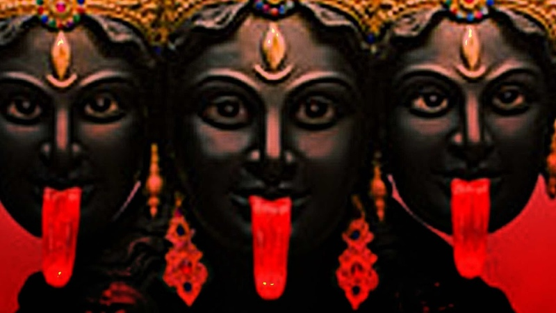 Powerful Mahakali Mantra Jaap Chanting   Kali Mantra Stotras   Maha kali Shakti Mantra