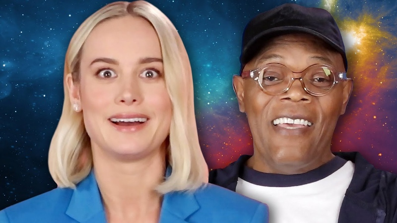 The Cast of Captain Marvel Plays Superhero Would You Rather