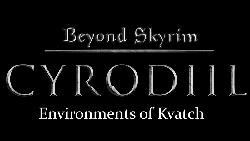 Beyond Skyrim Cyrodiil Environments of Kvatch Teaser
