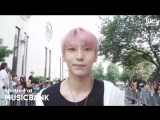 180803 LEO CANVAS Interview on the way to Music Bank #vixx #leo