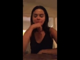 Selena Gomez talks about her new music, about her friends and more during an Instagram Live