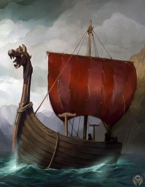 Неизвестные викинги. Под парусами драккара.