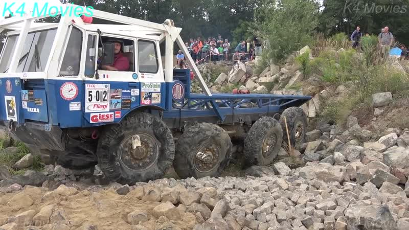 8x8 Mercedes-Benz, Tatra in Truck trial, Off-Road _ Teuchern, Germany, 2018