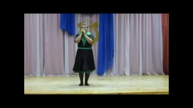 Елена Мягченко и танц кол Каскад или снова фестиваль трудовых коллективов 2019