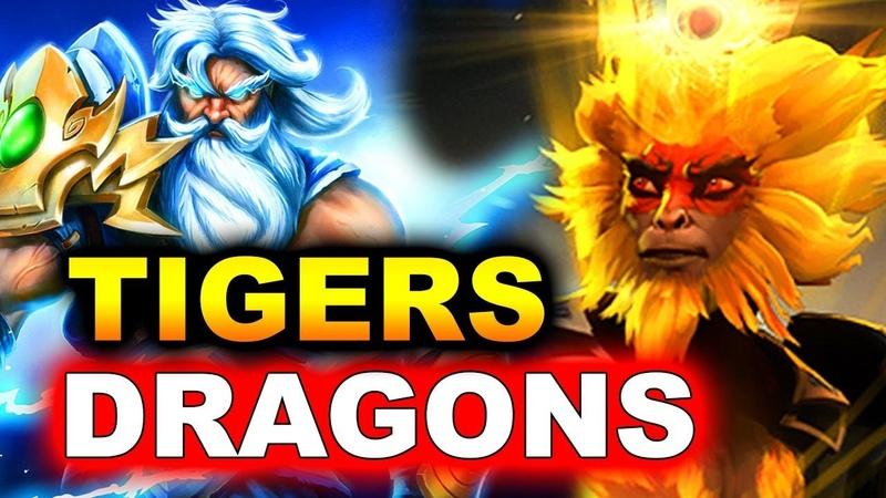 TIGERS vs DRAGONS - KING'S CUP 2 SEA DOTA 2