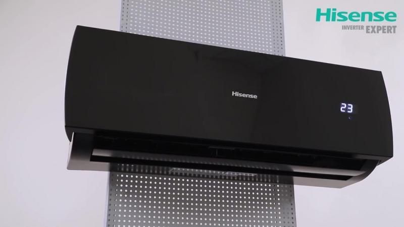 Обзор инверторного кондиционера Hisense серии BLACK STAR DC Inverter