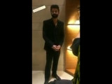 Lovely small clip with Barun Sobti shared by Kirti Singh in IG stories - @BarunSobtiSays WOTFA WOTFA2018