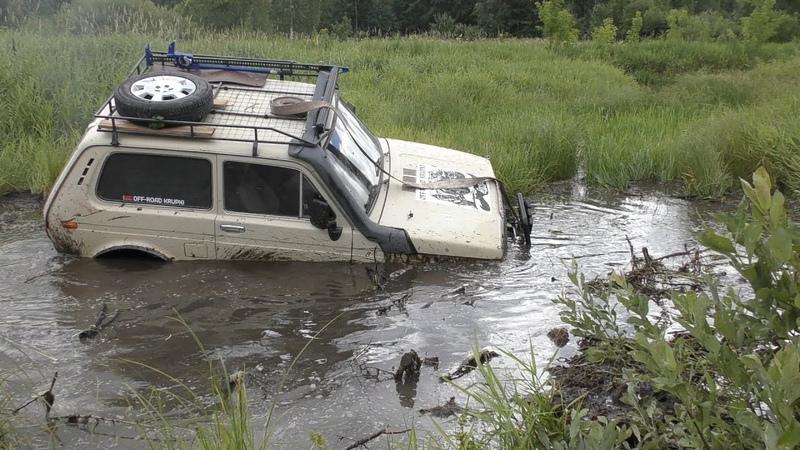 ЛЮТОЕ БЕЗДОРОЖЬЕ Дизельный Турбо-ЛУАЗ, УАЗы, НИВЫ, Jeep Cherokee. OFFROAD
