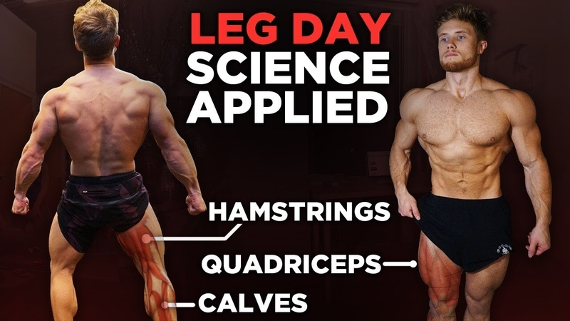 The Most Effective Science-Based LEG WORKOUT | Science Applied (12 Studies)