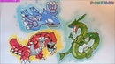 Hướng dẫn vẽ bộ 3 thời tiết pokemon huyền thoại siêu đẹp