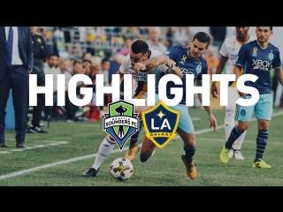 Highlights_ seattle sounders vs. la galaxy _ august 18, 2018