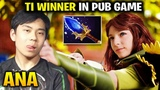 Ana Windranger - This is What Happens when TI Winner in Pub Game