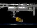 Robotic arm to capture Japans JAXA