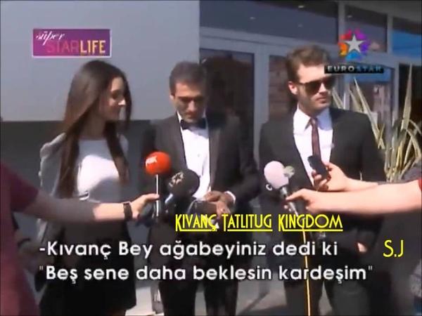 Kıvanç in CemTatlıtuğ Wedding Super StarLife زواج جم تاتليتوغ على قناة ستار28 4 20