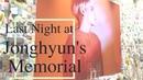 2018 The Last Night at Jonghyun's Memorial @ SMTOWN Coex Artium 코엑스 아티움