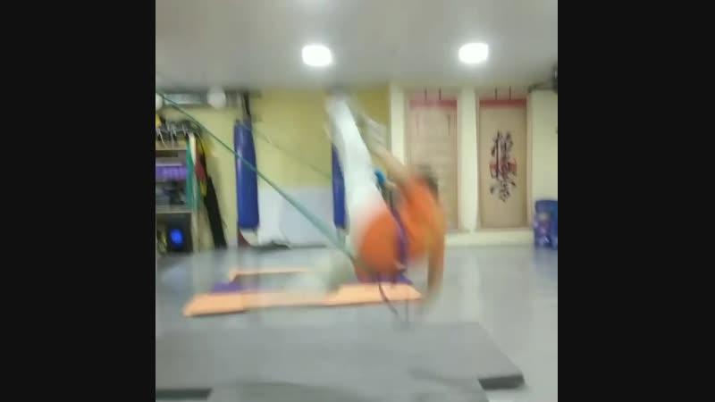 Боевые связки. Ударная прыжковая техника. Подготовка бойца Кёкусинкай карате vk.com/oyama_mas