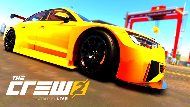 THE CREW 2 GOLD EDiTiON FUN-RACE (GAMEPLAY) AUDI RS3 LMS PART 557 ...