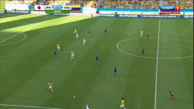 2014-06-24 RUS 720p HD Japan vs. Colombia First Half