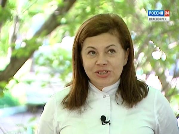 Вести Интервью гость программы главный внештатный детский аллерголог края Снежана Бычковская